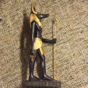 Egyption- Anubis Statue.
